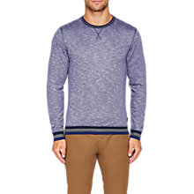 Buy Ted Baker Slater Stripe Jumper, Dark Blue Online at johnlewis.com