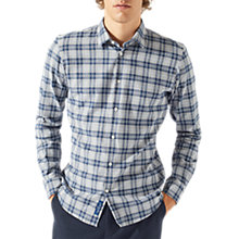 Buy Jigsaw Check Shirt, Flint Grey Online at johnlewis.com