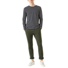 Buy Jigsaw Chino Trousers, Khaki Online at johnlewis.com