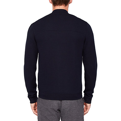 Buy Ted Baker Clive Bomber Jacket, Navy Online at johnlewis.com