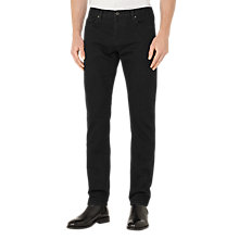 Buy Reiss Jonny Tapered Slim Jeans, Black Online at johnlewis.com