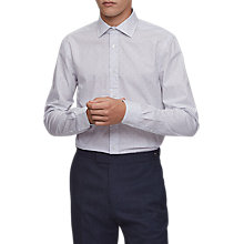 Buy Reiss Arkem Patterned Shirt, Soft Blue Online at johnlewis.com