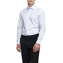 Buy Reiss Salasi Shirt, Soft Blue Online at johnlewis.com