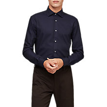 Buy Reiss Ragan Shirt, Navy Online at johnlewis.com