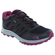 Buy The North Face Litewave GTX Waterproof Women's Walking Shoes, Black/Purple Online at johnlewis.com