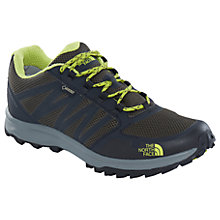 Buy The North Face Litewave GTX Men's Hiking Shoes, Black/Lime Online at johnlewis.com