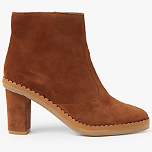 Buy See by Chloé Stasya Block Heeled Ankle Chelsea Boots, Tan Online at johnlewis.com