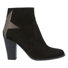 Buy Mint Velvet Skylar Block Heeled Ankle Boots, Black Online at johnlewis.com