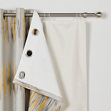Buy John Lewis Eyelet Blackout Curtain Linings Online at johnlewis.com