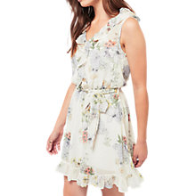 Buy Miss Selfridge Garden Floral Dress, Multi Online at johnlewis.com