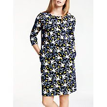 Buy Boden Alda Dress, Navy Swallow Vine Online at johnlewis.com
