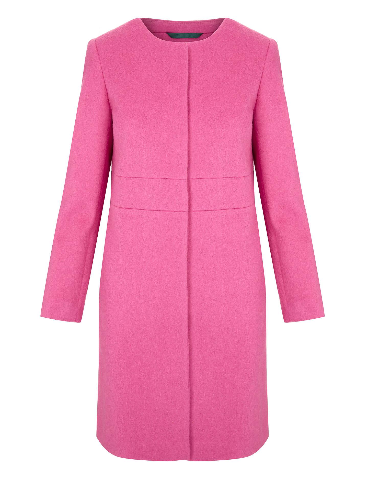 7f26905c78f4 ... Buy Boden Imelda Coat, Party Pink, 8 Online at johnlewis.com ...