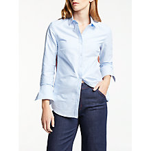 Buy Boden The Modern Shirt, Oxford Blue Online at johnlewis.com