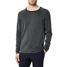 Buy Selected Homme Shnclash Acid Wash Jumper Online at johnlewis.com