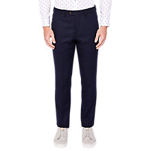 Buy Ted Baker Glentro Trousers, Navy Online at johnlewis.com