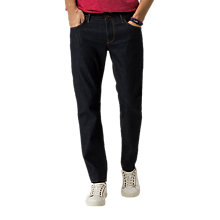 Buy Tommy Hilfiger Denton Straight Jeans, New Clean Rinse Online at johnlewis.com