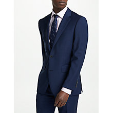 Buy Chester by Chester Barrie Travel Wool Tailored Suit Jacket, Navy/Black Online at johnlewis.com