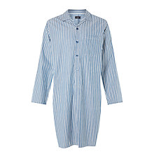 Buy John Lewis Gorleston Stripe Nightshirt, Blue Online at johnlewis.com