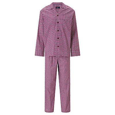 Product photo of John lewis elephant print pyjamas burgundy