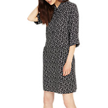 Buy Phase Eight Bella Spot Dress, Black/Ivory Online at johnlewis.com