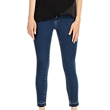 Buy Phase Eight Aida Frayed Hem Jeans, Denim Blue Online at johnlewis.com