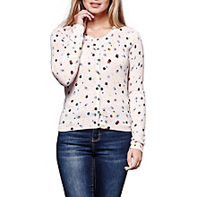 Buy Yumi Polka Dot Cardigan, Multi Online at johnlewis.com