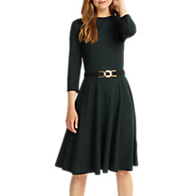 Buy Phase Eight Belted Ponte Swing Dress Online at johnlewis.com