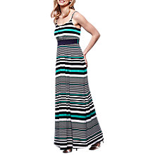 Buy Yumi Horizontal Striped Maxi Dress, Multi Online at johnlewis.com