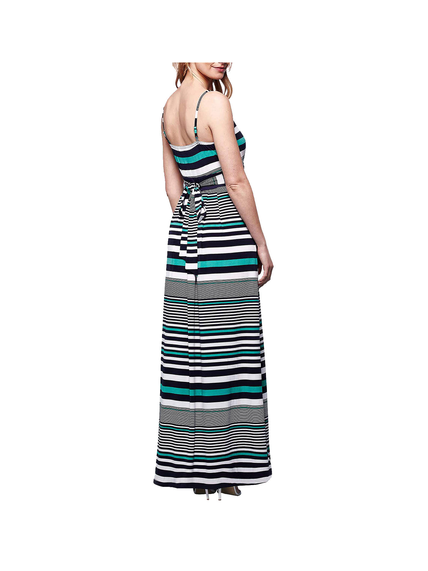 BuyYumi Horizontal Striped Maxi Dress, Multi, 8 Online at johnlewis.com