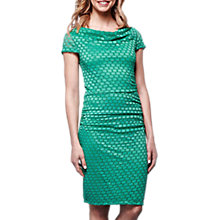 Buy Yumi Lace Cowl Neck Bodycon Dress, Jade Online at johnlewis.com