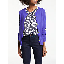 Buy Boden Cashmere Crew Neck Cardigan Online at johnlewis.com