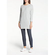Buy Thought Kamakura Tunic Dress, Light Grey Marl Online at johnlewis.com