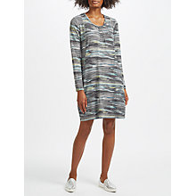 Buy Thought Mori Tunic Dress, Strata Stripe Online at johnlewis.com