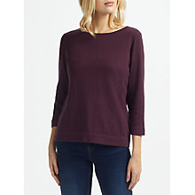 Buy Thought Jeanette Organic Wool Blend Jumper, Heather Online at johnlewis.com