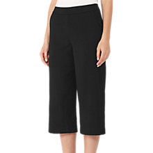 Buy Reiss Straight Leg Culottes, Black Online at johnlewis.com