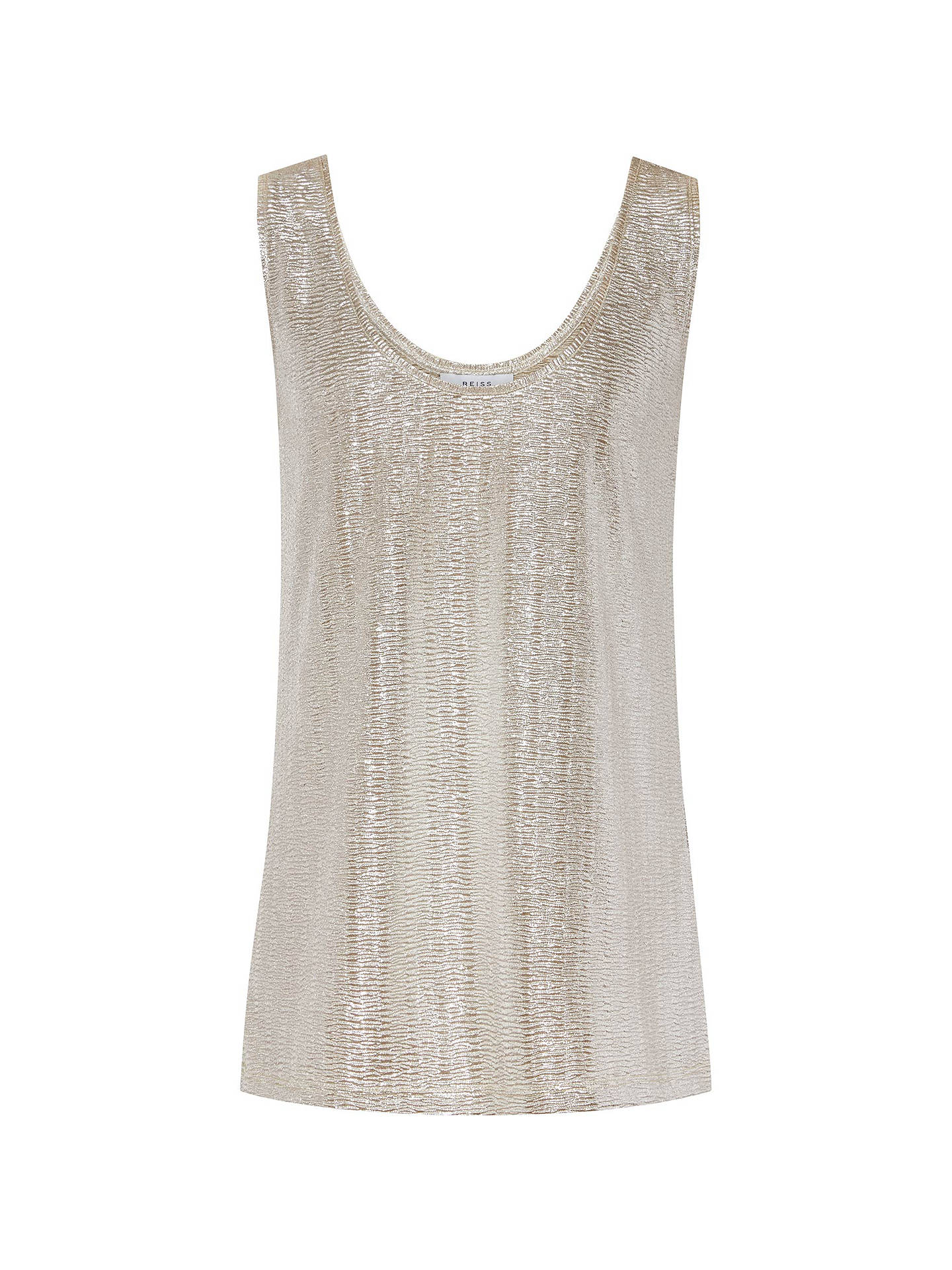 4903b5f3adf9b ... Buy Reiss Gemma Metallic Front Vest Top