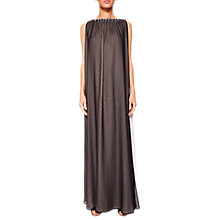 Buy Ted Baker Embellished Two-Tone Maxi Dress, Black Online at johnlewis.com