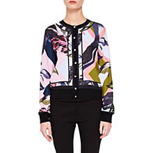 Buy Ted Baker Aleesh Mississippi Bomber Cardigan, Navy Online at johnlewis.com