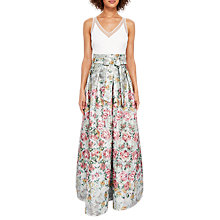Buy Ted Baker Meigan Patchwork Maxi Dress, Multi Online at johnlewis.com
