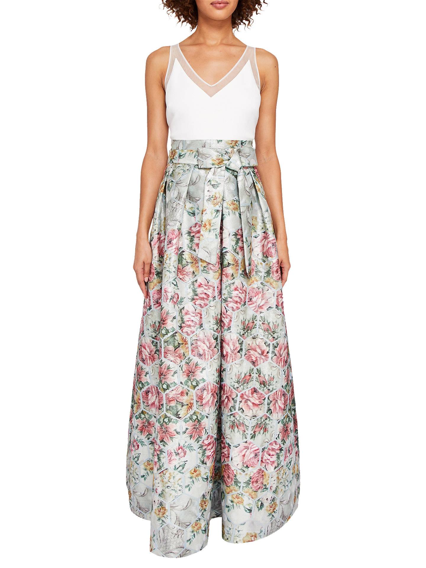 7ae8cc597f862 Buy Ted Baker Meigan Patchwork Maxi Dress
