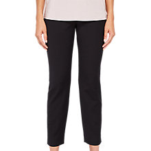 Buy Ted Baker Split Hem Skinny Trousers, Black Online at johnlewis.com