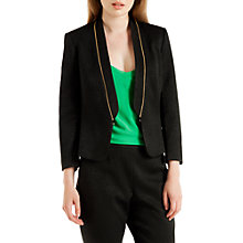 Buy Ted Baker Ottoman Suit Jacket, Black Online at johnlewis.com