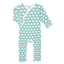 Buy Pigeon Organics Baby Bear Long Sleeve Romper Online at johnlewis.com