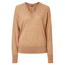 Buy Winser London Merino Wool V-Neck Jumper Online at johnlewis.com