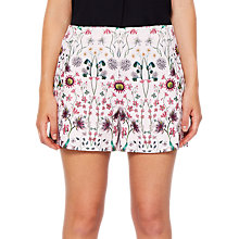 Buy Ted Baker Palomi Unity Floral Shorts, Nude Pink Online at johnlewis.com