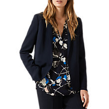 Buy Jigsaw Drawstring Blazer, Navy Online at johnlewis.com