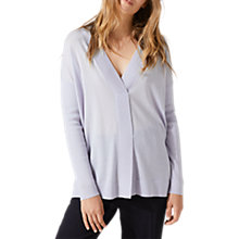 Buy Jigsaw Stitch Placket Jumper Online at johnlewis.com