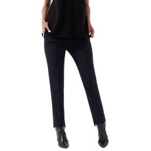 Buy Jigsaw Stepped Hem Trouser, Black Online at johnlewis.com