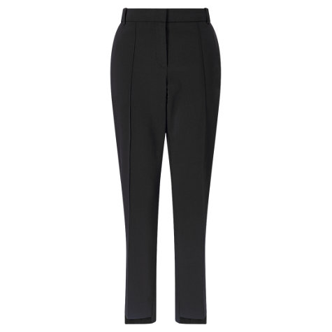 Buy Jigsaw Stepped Hem Trousers, Winter Rose Online at johnlewis.com