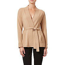 Buy Winser London Audrey Cashmere Cardigan, Soft Camel Online at johnlewis.com